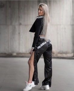 Штаны Nebbia Satin Bottom Up pants